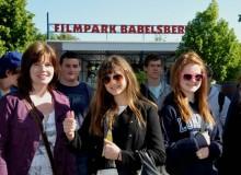 Eingang Filmpark Babelsberg